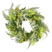 Darice Artificial Baby Breath & Twig Wreath