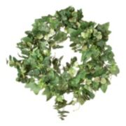 Darice Artificial Eucalyptus & Green Ivy Wreath