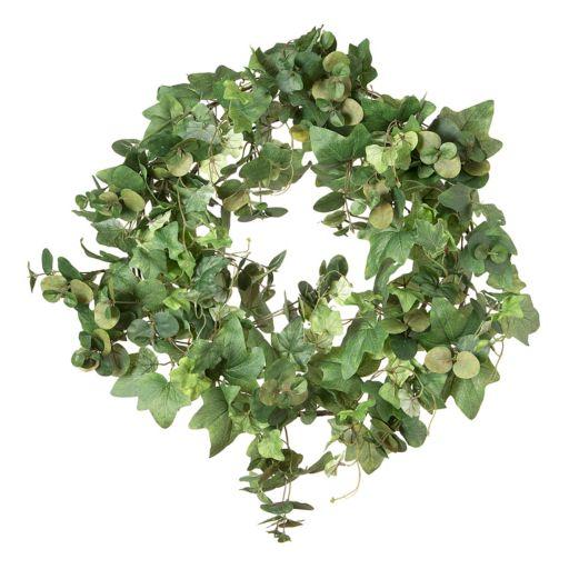 Darice Artificial Eucalyptus & Green Ivy Wreath
