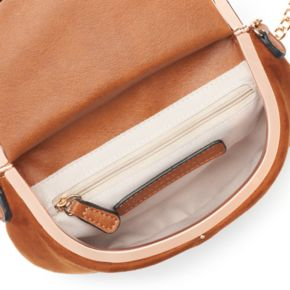 LC Lauren Conrad Lili Frame Flap Crossbody Bag