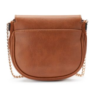 LC Lauren Conrad Lili Frame Flap Crossbody Bag