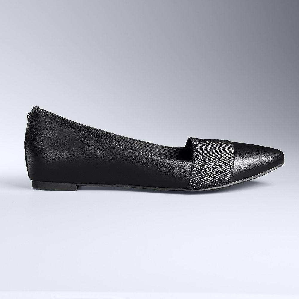 43cdb787cd18 Simply Vera Vera Wang Women s Pointed-Toe Flats