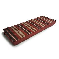 SONOMA Goods for Life™ Suntastic 1000 Striped Indoor Outdoor Reversible Bench Cushion