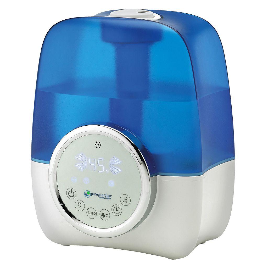 pureguardian Ultrasonic Cool Mist Humidifier with Digital Smart Mist Sensor (H1250)