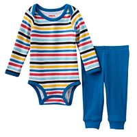 Baby Boy Skip Hop Graphic Bodysuit & Pants Set