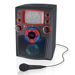 iLive Bluetooth Wireless Karaoke Machine with Built-In Monitor
