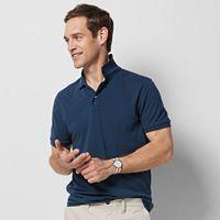 Men's SONOMA Goods for Life™ Flexwear Slim-Fit Solid Pique Polo