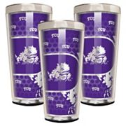 TCU Horned Frogs 3 pc Shot Glass Set