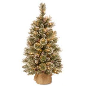 National Tree Company 3-ft. Pre-Lit Artificial Pine Christmas Tree