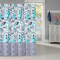Intelligent Design Tiffany Shower Curtain