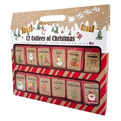 Fifth Avenue Gourmet 12 Coffees of Christmas Gift Set