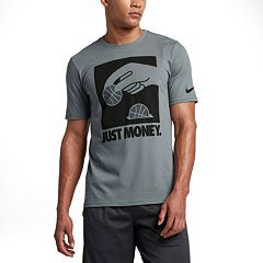Men's Nike Dri-FIT Core 'Just Money' Performance Basketball Tee