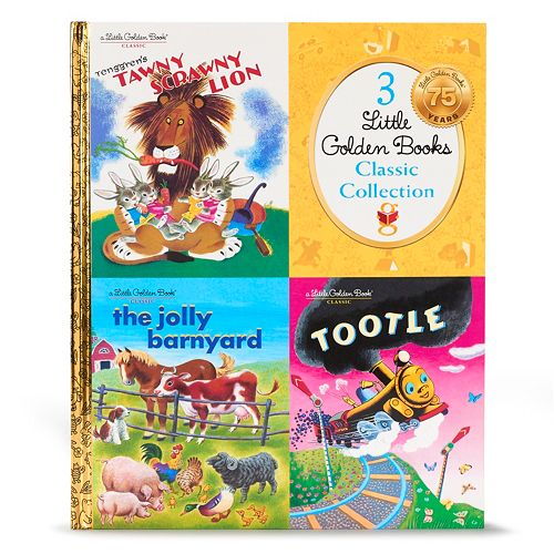 """Kohl's Cares® Little Golden Books """"Tenggren's Tawny Scrawny Lion"""" Book Collection"""