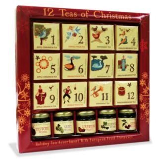 Fifth Avenue Gourmet 12 Teas of Christmas Gift Set