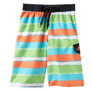 Boys 8-20 adidas Go On Stripe Board Shorts