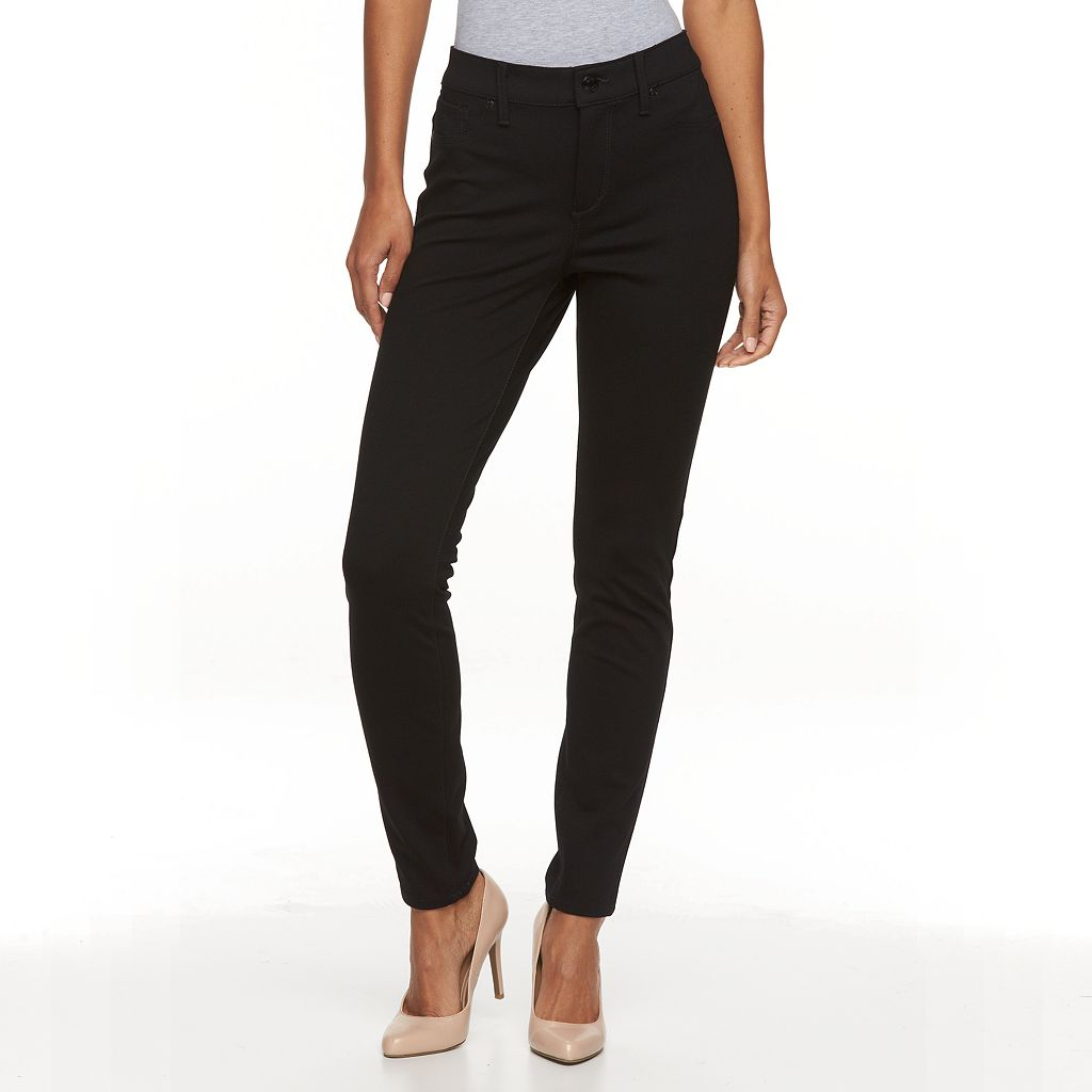 Women's Gloria Vanderbilt Twill Slim Leggings