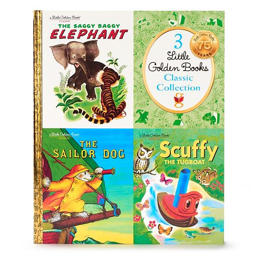 """Kohl's Cares® Little Golden Books """"The Saggy Baggy Elephant"""" Book Collection"""