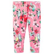Girls 4-8 Carter's Bird & Floral Leggings