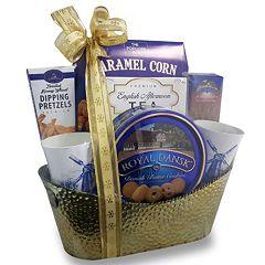 Fifth Avenue Gourmet Royal Dansk Gift Basket