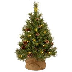 National Tree Company 36-in. Pre-Lit Artificial Pine Christmas Tree
