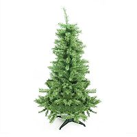 4.5-ft. Artificial Mixed Pine Slim Christmas Tree