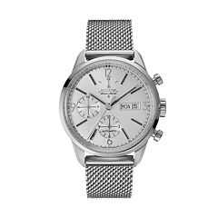 Bulova Men's Accu Swiss Automatic Stainless Steel Mesh Watch