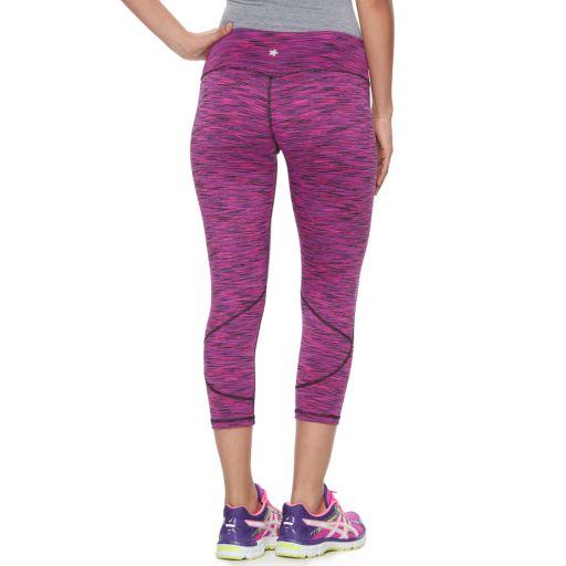 Women's Tek Gear® Space-Dyed Capris
