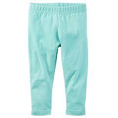 Girls 4-8 Carter's Aqua Capri Leggings