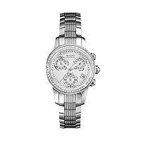 Bulova Women's Accu Swiss Diamond Stainless Steel Watch - 63R141