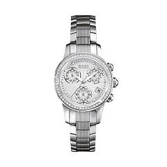 Bulova Women's Accu Swiss Diamond Stainless Steel Watch - 63R141