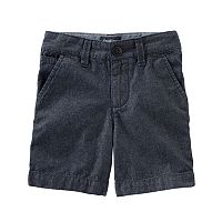 Boys 4-8 OshKosh B'gosh® Chambray Flat Front Denim Shorts