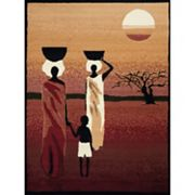 United Weavers Legends African Sunset Rug - 5'3'' x 7'2''