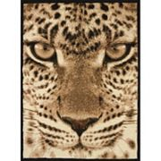 United Weavers Legends Leopard Face Rug - 5'3'' x 7'2''
