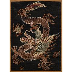 United Weavers Legends Dragon Luck Rug - 5'3'' x 7'2''