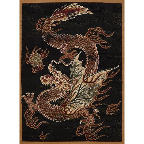 United Weavers Legends Dragon Luck Rug - 5'3'' x 7'2''