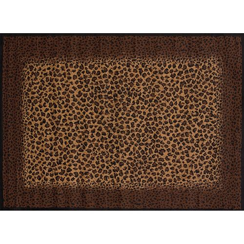 United Weavers Legends Leopard Skin Print Rug - 5'3'' x 7'2''