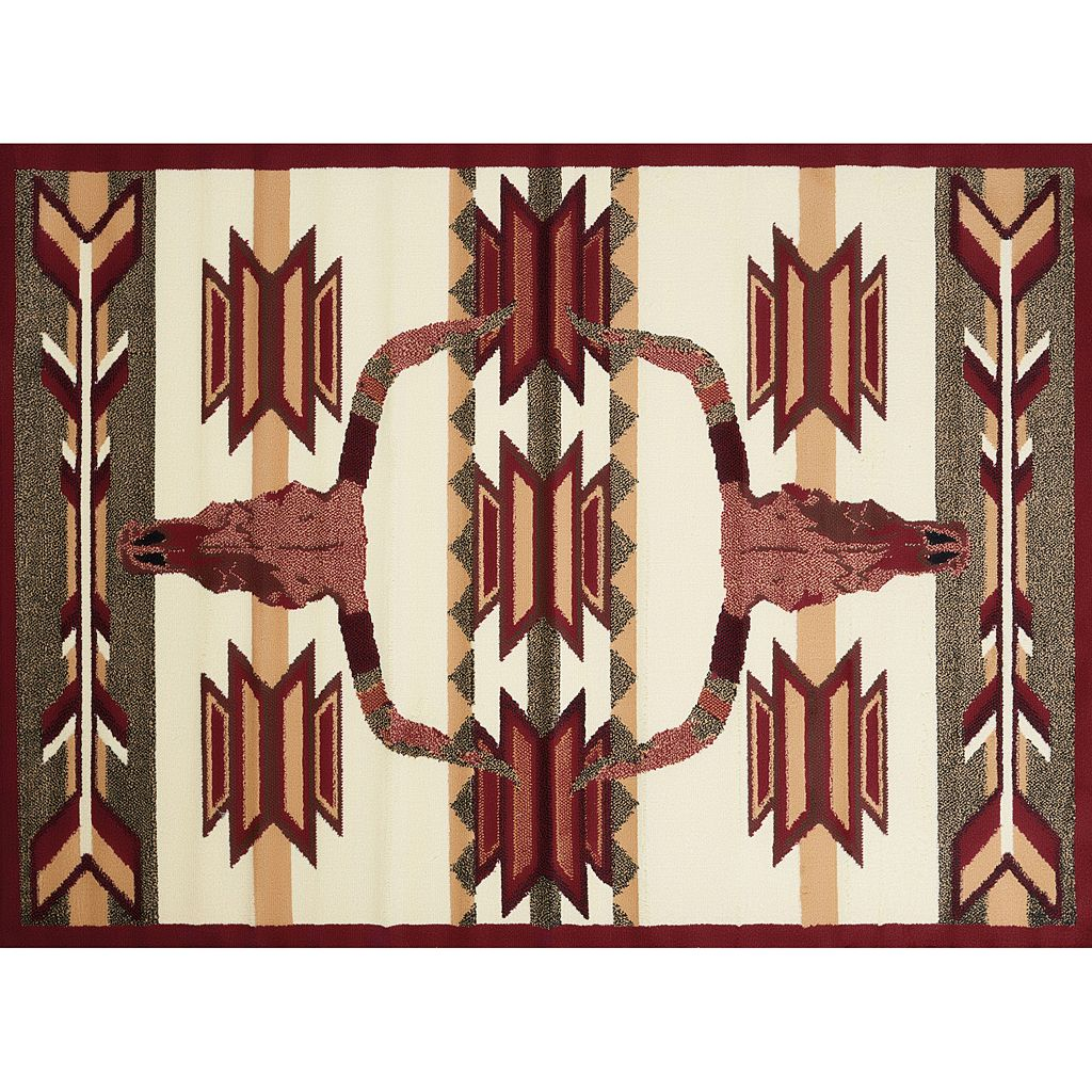 United Weavers Legends Bone Arrow Rug - 5'3'' x 7'2''