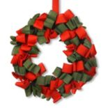 National Tree Company 20 in Burlap Christmas Wreath