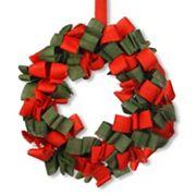 National Tree Company 20 in Burlap Christmas Wreath