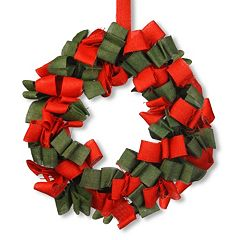 National Tree Company 20-in. Burlap Christmas Wreath
