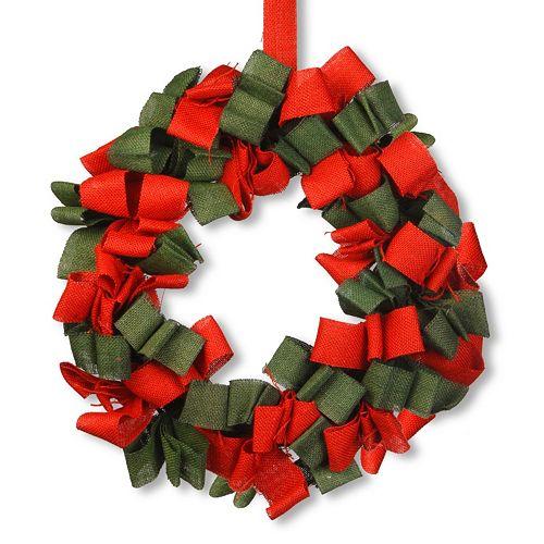 National Tree Company 20-in. Burlap Christmas Wreath