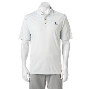 Men's Pebble Beach Classic-Fit Tonal Jacquard Performance Golf Polo