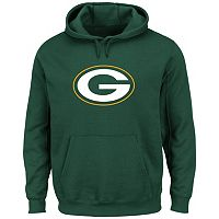 Men's Majestic Green Bay Packers Tek Patch Fleece Hoodie