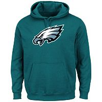 Men's Majestic Philadelphia Eagles Tek Patch Fleece Hoodie