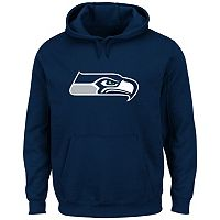 Men's Majestic Seattle Seahawks Tek Patch Fleece Hoodie