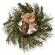 National Tree Company 30 in Artificial Bristle Branch Christmas Wreath