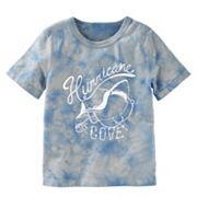 Boys 4-12 OshKosh B'gosh® Tie-Dyed 'Hurricane Cove' Shark Graphic Tee