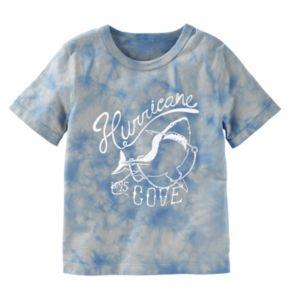"""Boys 4-12 OshKosh B'gosh® Tie-Dyed """"Hurricane Cove"""" Shark Graphic Tee"""