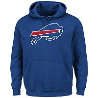 Men's Majestic Buffalo Bills Tek Patch Fleece Hoodie