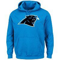 Men's Majestic Carolina Panthers Tek Patch Fleece Hoodie